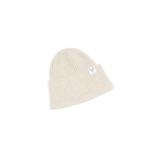 Cashmere Ribbed Slouchy Toque (Light Brown)