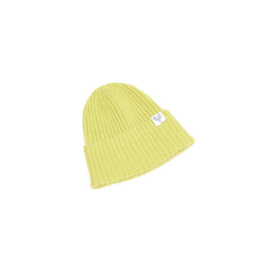 Cashmere Ribbed Slouchy Toque (Punch)