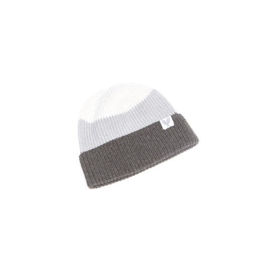 Cashmere Colour Block Toque (Ibex/Coyote/Niveous)