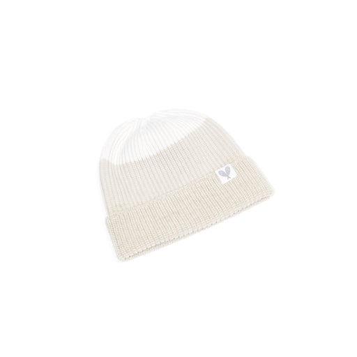 Cashmere Colour Block Toque (Light Brown Natural/Earl Grey/Niveous)