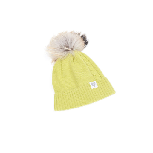 Cashmere Single Cable Toque (Punch)