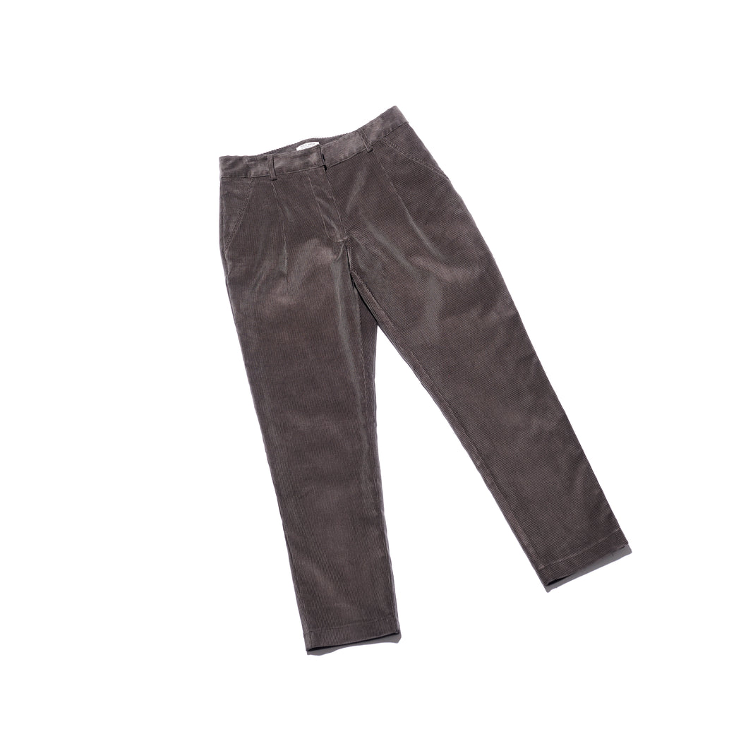 Corduroy Trousers (Charcoal)