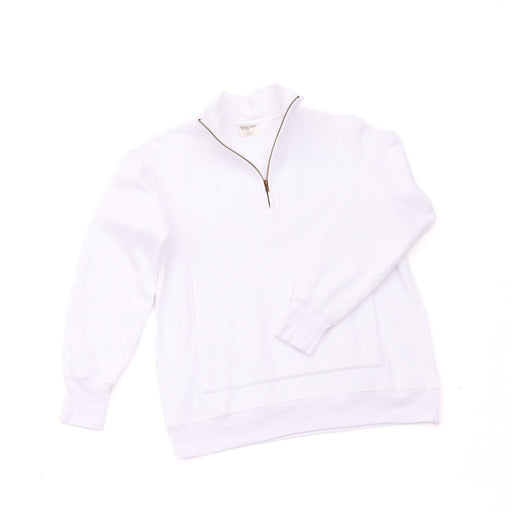 Unisex CORE 1/4 Zip (White)