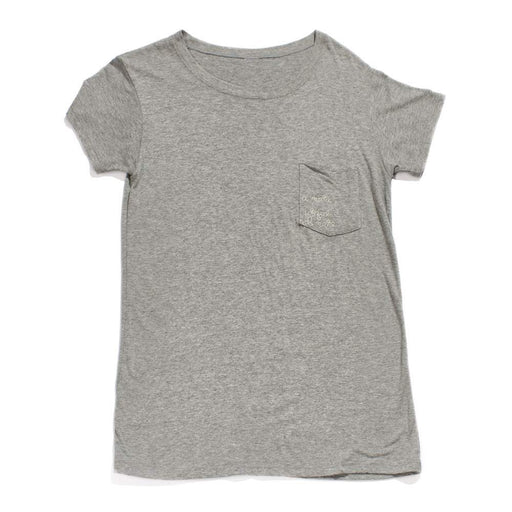 Women's - A mari usque ad mare Crewneck Tee - Anti Grey