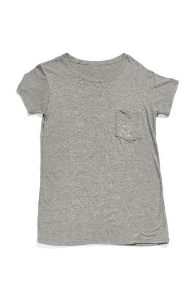A mari usque ad mare Crewneck Tee - Anti Grey Women's