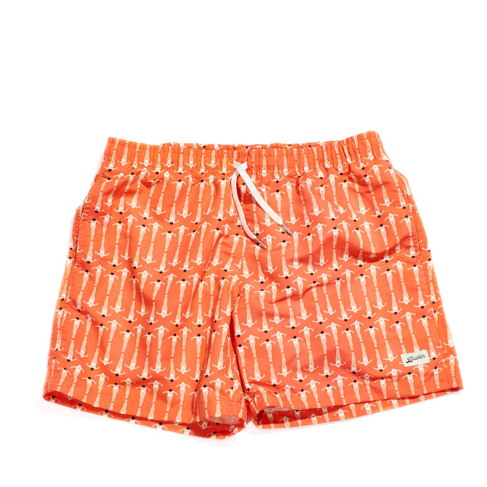 SURF | SWIM Swimmer Trunks (Papaya)