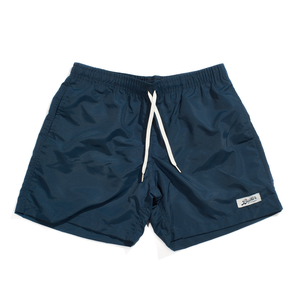 Swim Trunks - Navy Solid