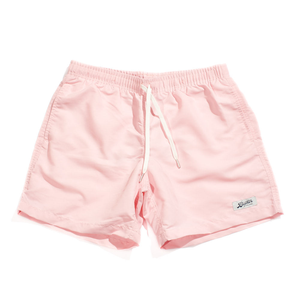 Swim Trunks - Pink Solid