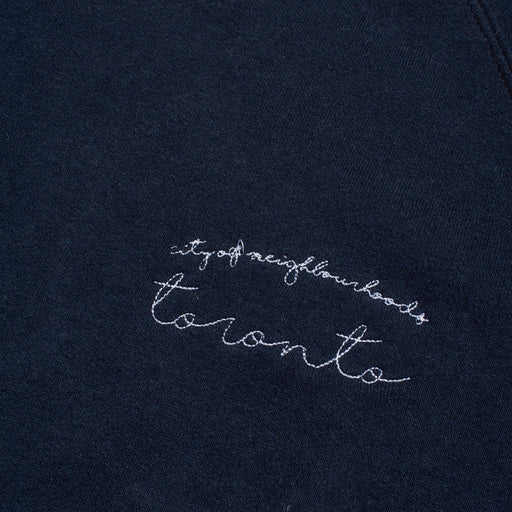 City of Toronto - Embroidered Sweatshirt (Navy)