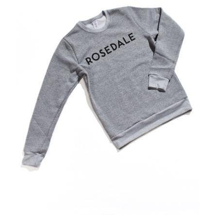 City of Neighbourhoods Melange Crewneck - Rosedale