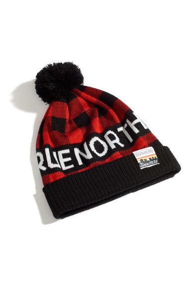 TRUE NORTH Buffalo Check - Toque