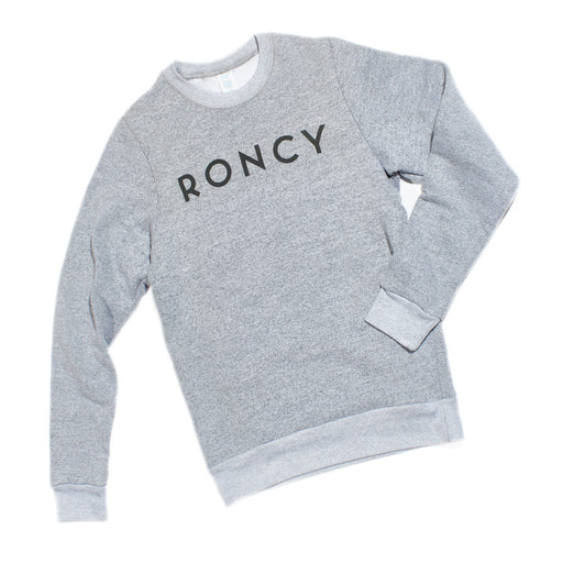 Roncy Heather Grey Crewneck