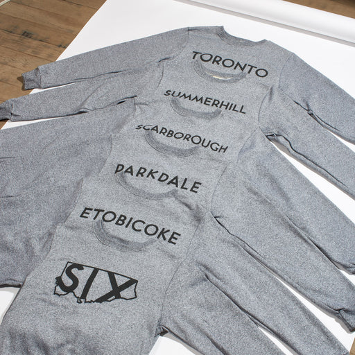 City of Neighbourhoods Melange Crewneck - Etobicoke