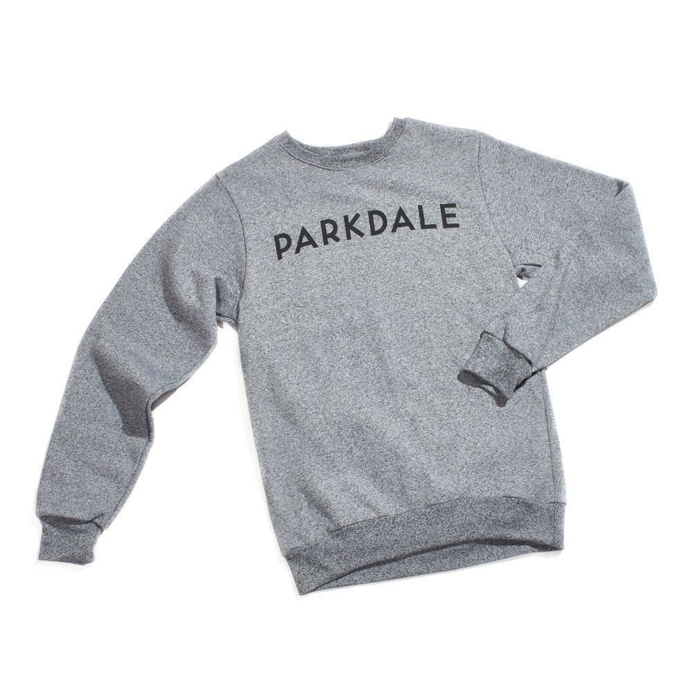 City of Neighbourhoods Melange Crewneck - Parkdale