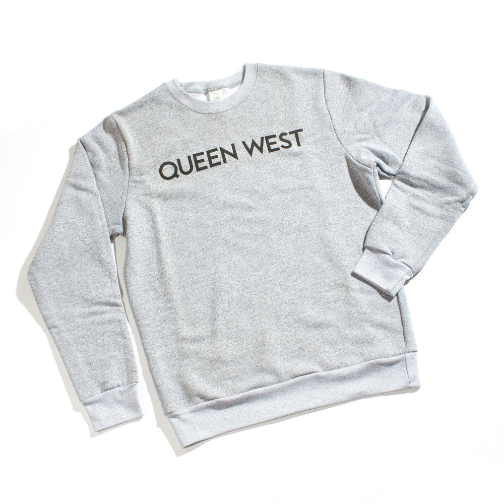 Queen West Heather Grey Crewneck