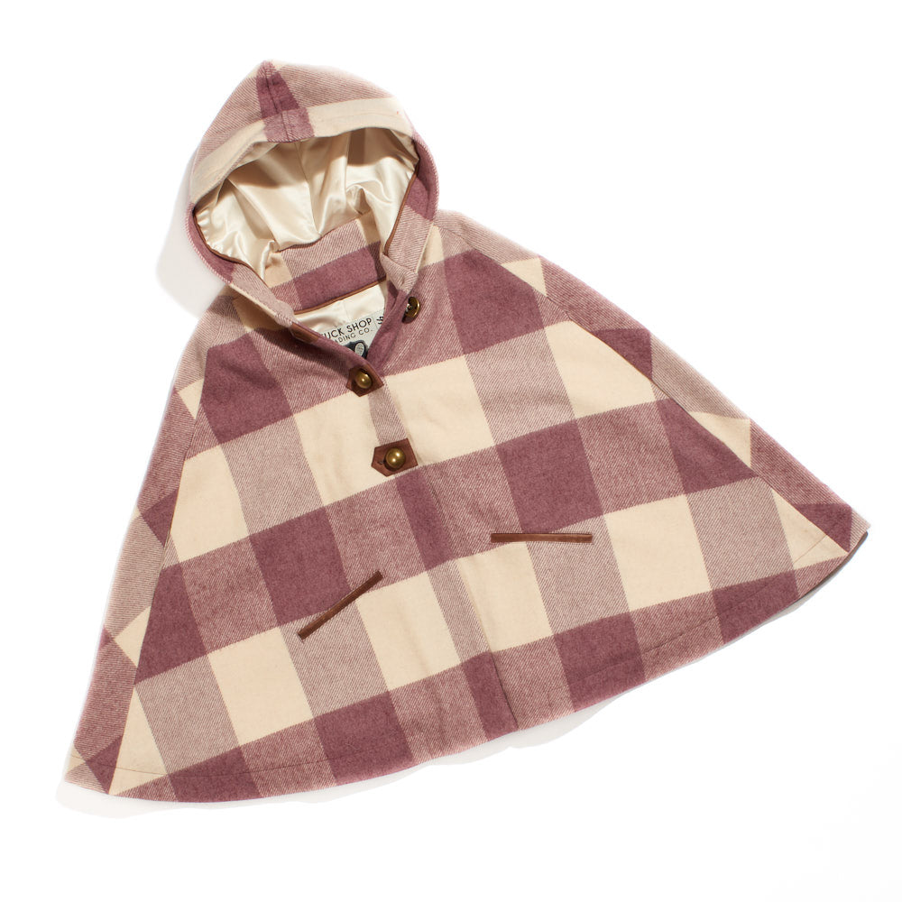 Dreamy Cape Parfum/Cream Buffalo Check