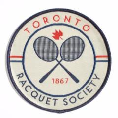 Racquet Society Patch