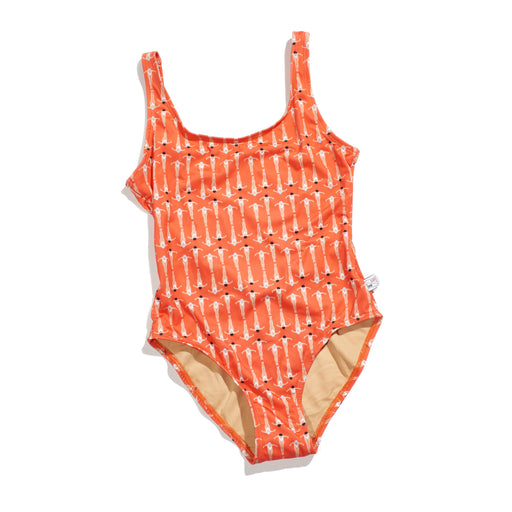 Swimmer Tank Bather (Papaya)