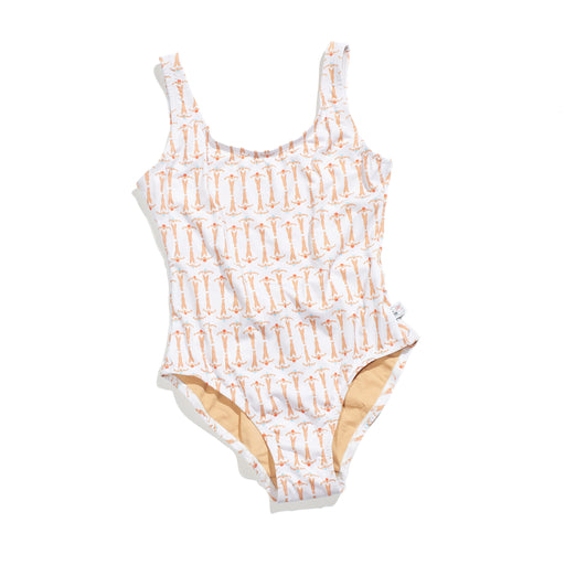 Swimmer Tank Bather (White)