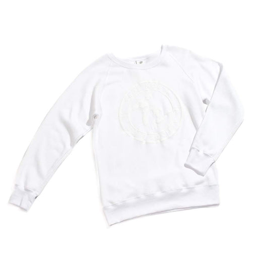 True North Surf Society Organic Cotton Sweatshirt - (White)
