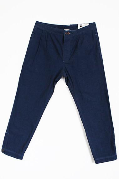 The Weekender Pant - Dark Chambray