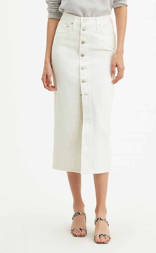 Levi's - Button Front Midi Skirt