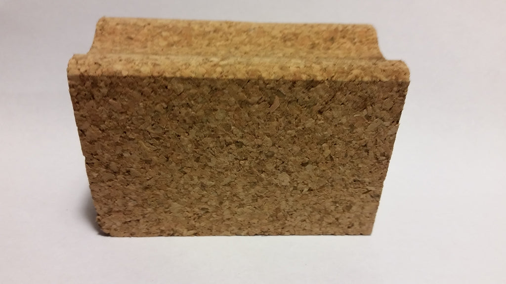 ski and Snowboard waxing cork block