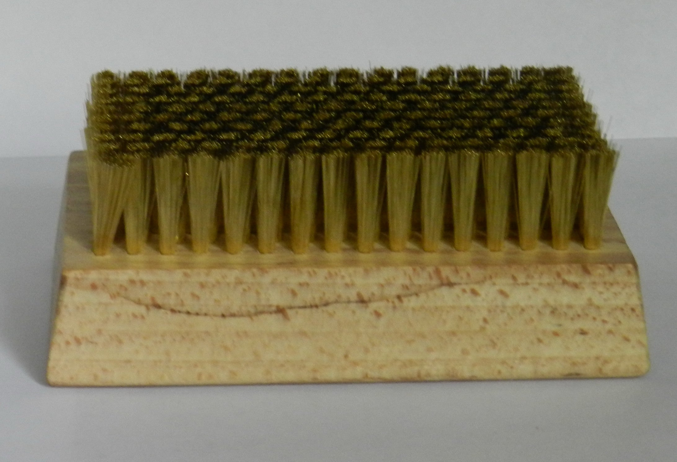Waxing Brass Brush