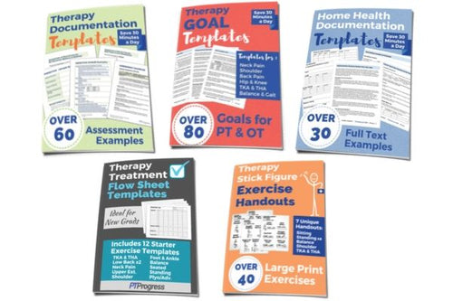 Therapy Documentation Bundle 30% Discount