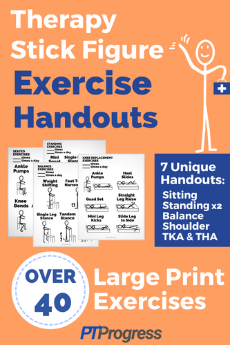 Therapy Stick Figure Exercises