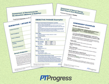 Load image into Gallery viewer, Physical Therapy Documentation Assessment Templates