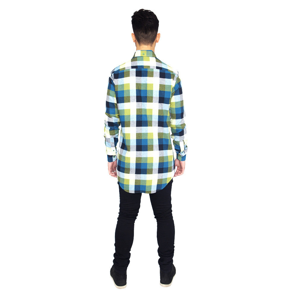 Verde Button Down