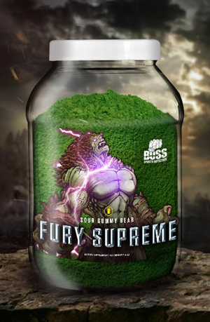 Fury Supreme | Sour Gummy Bear