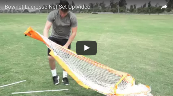 6x6 (1.82m x 1.82m) Lacrosse Net Set Up Video