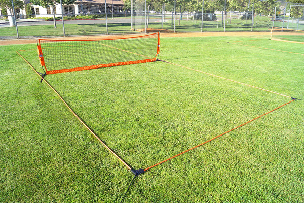 12' (3.6m) Football Tennis Court