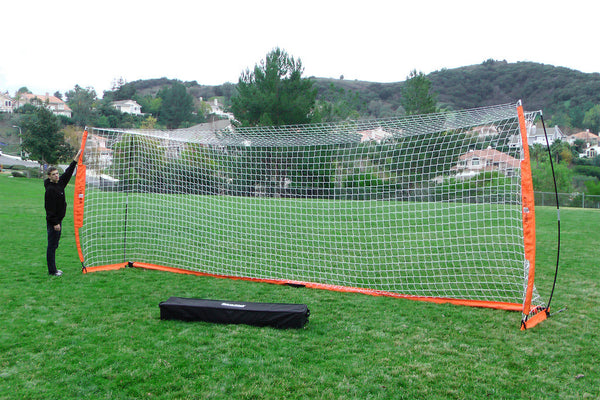 24' x 8' (7.3m x 2.4m) Full Size Football Goal