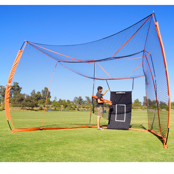 Bownet 11' x 20' (3.35m x 6.01m) Big Daddy 'Turtle' Backstop