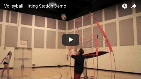 Volleyball Practice Station Demo Video