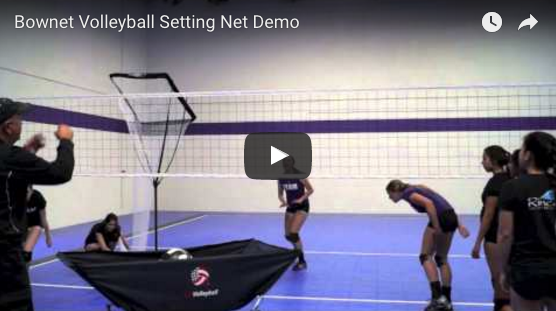 Volleyball Setting Net Demo Video