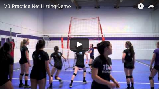 Volleyball Practice Station Hitting Demo Video