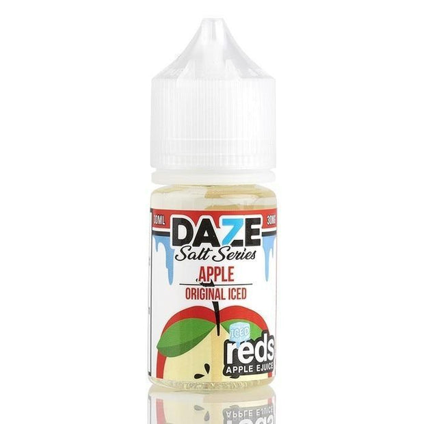 7DAZE NICSALT - REDS APPLE ICED - VapeStuff NZ