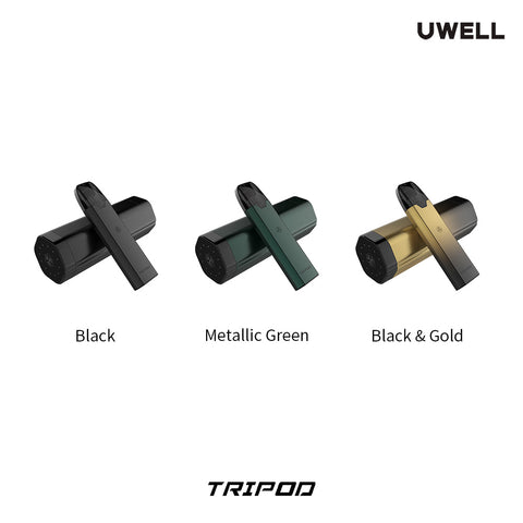 Uwell Tripod Pod PCC Pod Kit full colours