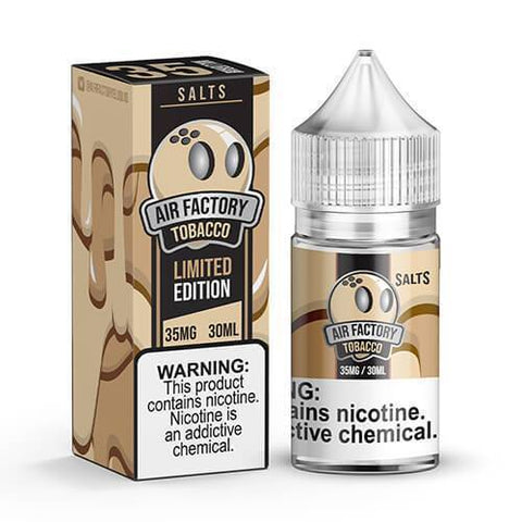 AIR FACTORY TOBACCO SALTS LTD EDITION 30ML - VapeStuff NZ