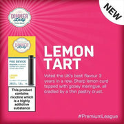Dinner Lady Disposable Vape Pod Device - Lemon Tart - VapeStuff NZ
