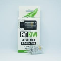 Fat Kiwi - Recyclable Sub-Ohm Tank (3 Pack) - VapeStuff NZ