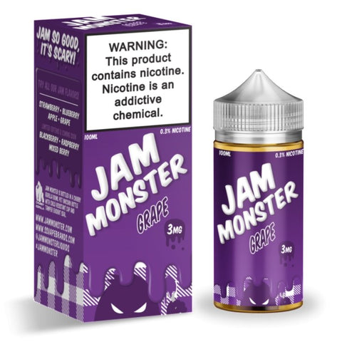 Jam Monster - Grape - VapeStuff NZ