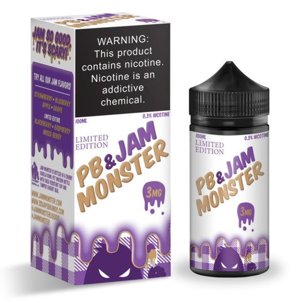 Jam Monster - GRAPE PB & JAM MONSTER - VapeStuff NZ