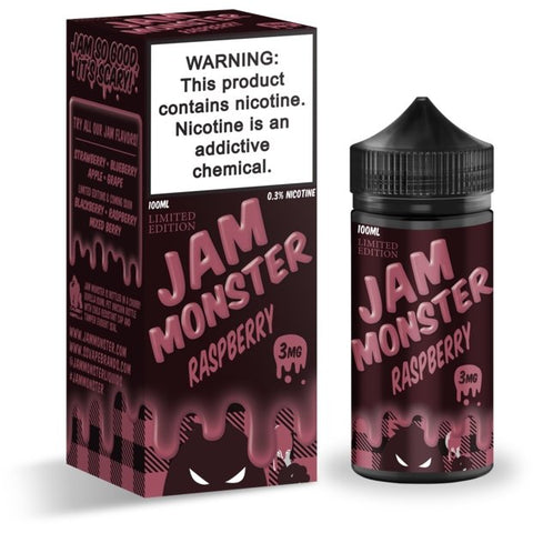JAM MONSTER - RASPBERRY (LIMITED EDITION) - VapeStuff NZ