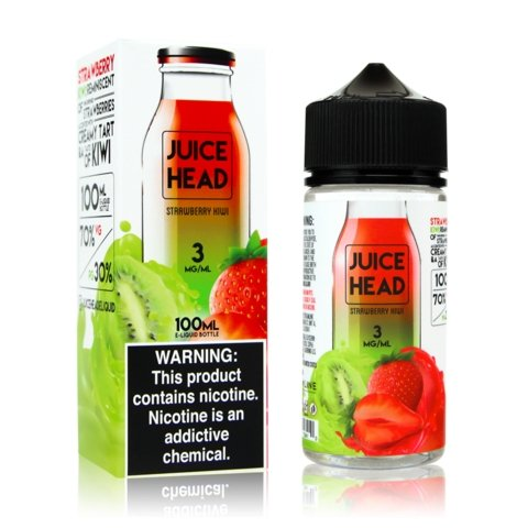 Juice Head Strawberry Kiwi - VapeStuff NZ