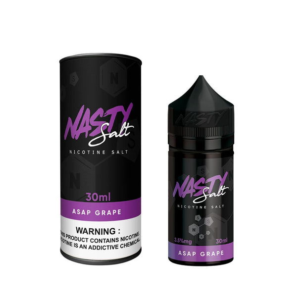 NASTY JUICE SALTS - ASAP GRAPE - VapeStuff NZ